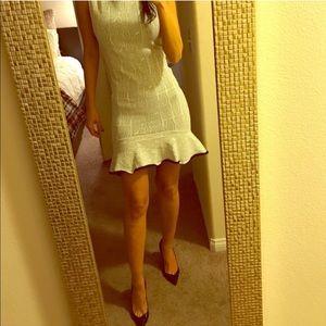 BCBG fitted dress